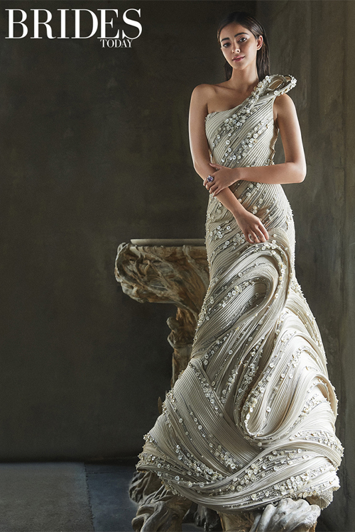 Sculpted Gown, Couture Gown
