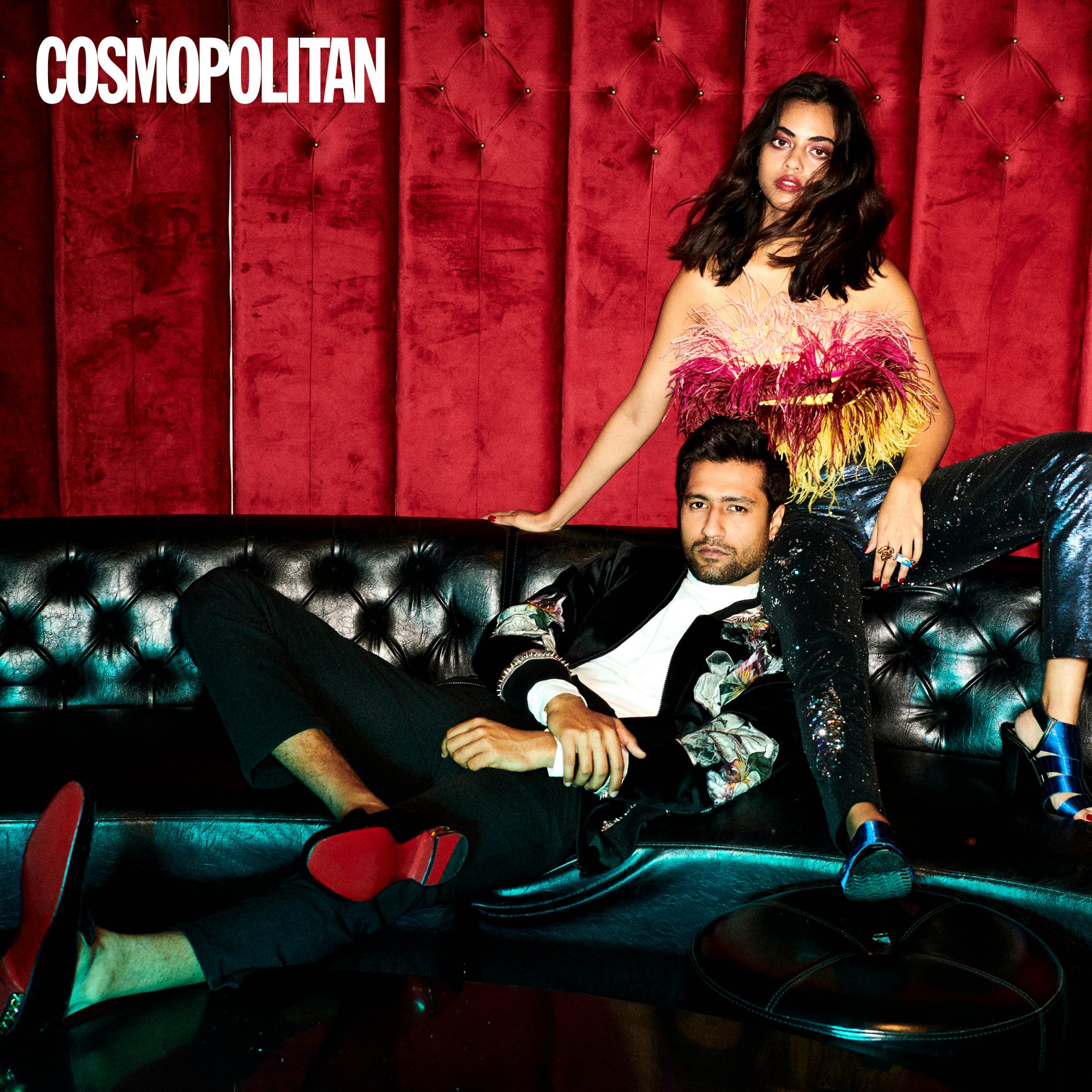 Vicky Kaushal in Gaurav Gupta for Cosmopolitan
