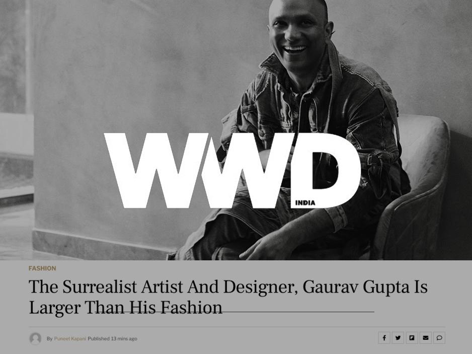 Gaurav Gupta WWD India
